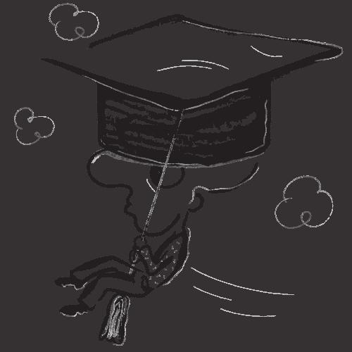 Flying student